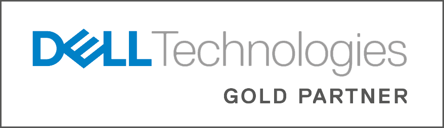 Dell gold partner logo